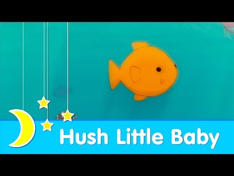Hush Little Baby | Bedtime Lullaby | Piano Music | Super Simple Songs