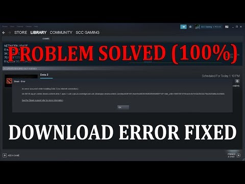 Steam Download Speed Drops to 0 Bytes?   Problem Solved 100% - YouTube