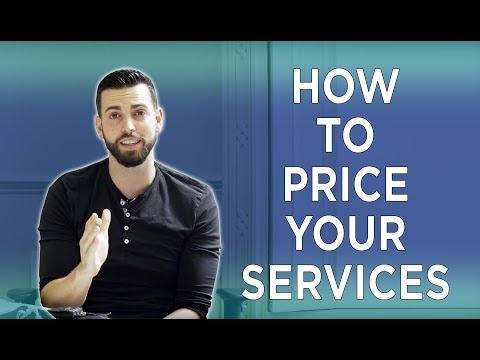 HOW TO PRICE YOUR SERVICES - SUPPLY DELIVERY DEMAND