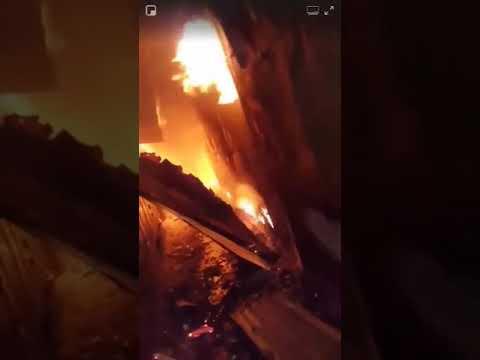 Conakry: un grave incendie au marché de Madina…
