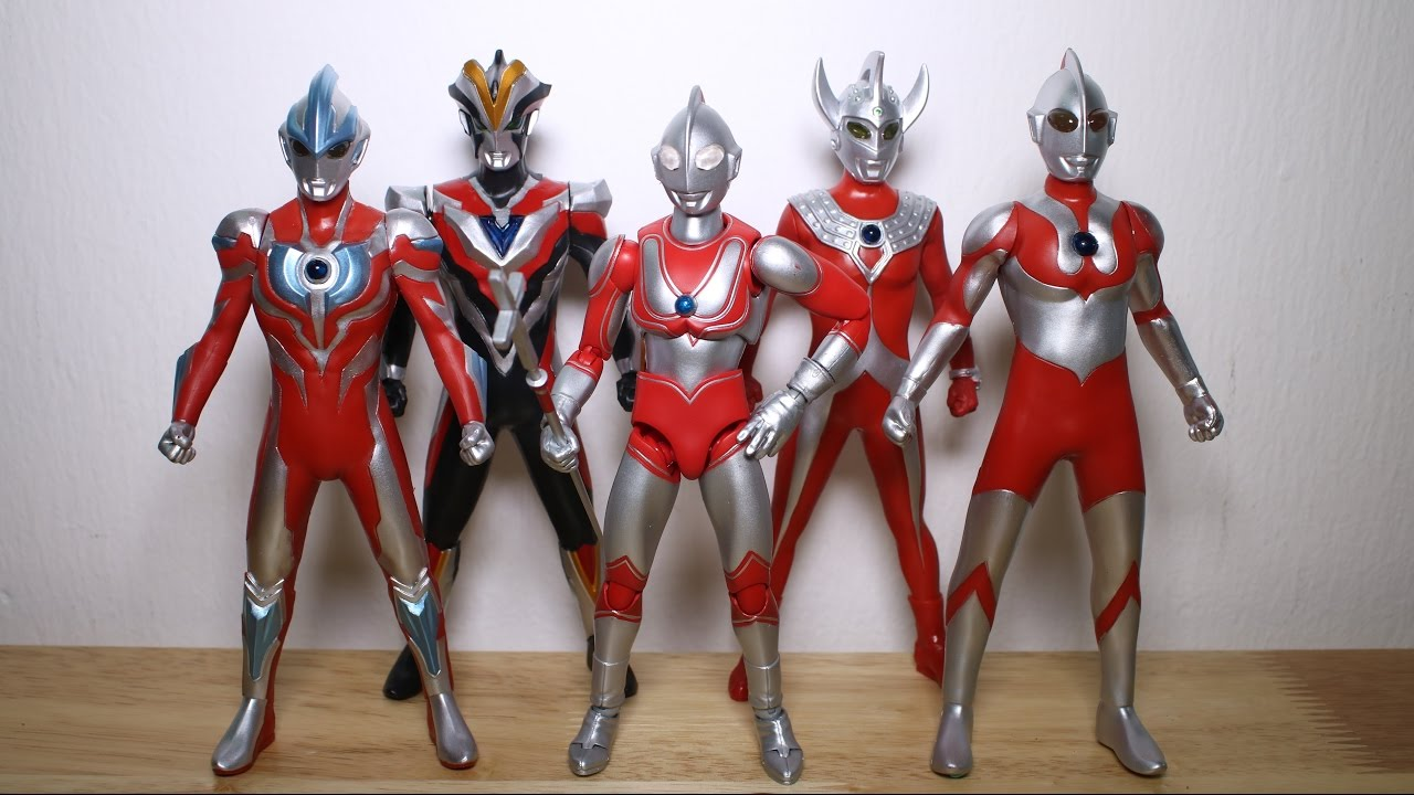 New Ultraman Toys Review Youtube