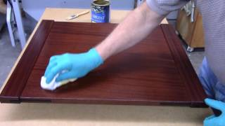 Applying General Finishes Gel Topcoat