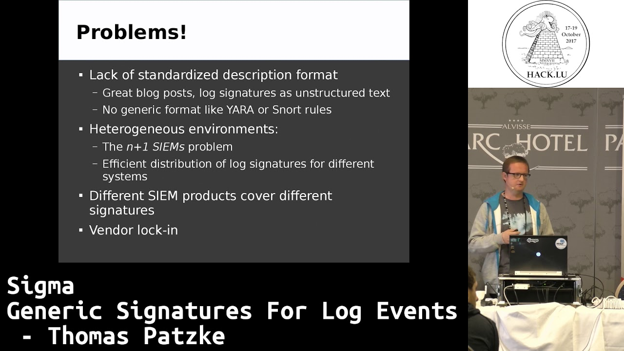 sigma - Generic Signature Format for SIEM Systems