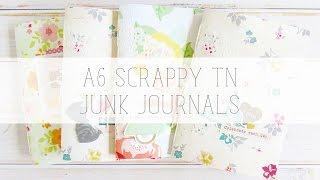 a6 scrappy tn junk journals