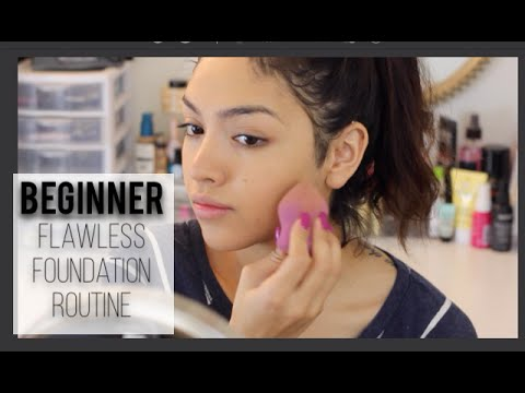 Beginners Flawless Foundation Routine