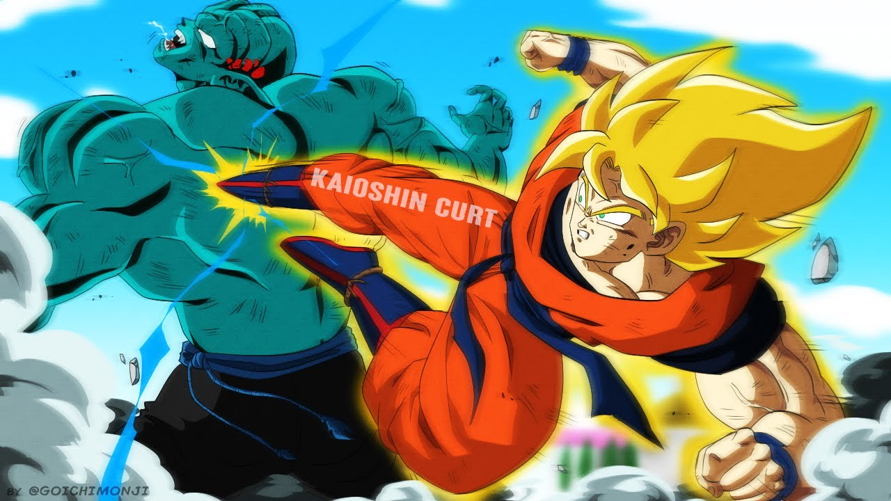 What If Super Saiyan Goku Vs Garlic Jr Was In Dragon Ball Z This Fight Is More Even Than You Think Youtube Hij vindt ze allemaal en wordt onsterfelijk. what if super saiyan goku vs garlic jr was in dragon ball z this fight is more even than you think