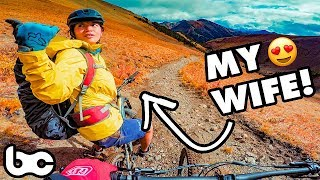 SHE'S SO WEIRD ❤️️   Bikepacking the Chilcotins - Day 2