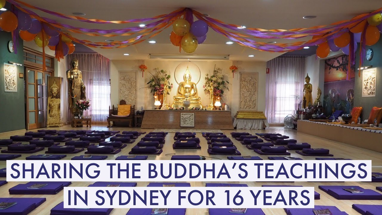 The journey of building a Buddhist Centre and Monastery