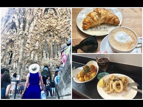 Europe Travel Vlog 2 -Barcelona 2017