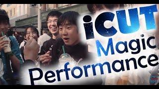 street magic icut magic trick performance by jay jay