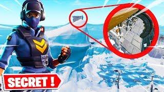 EPIC GAMES WE CACHE A BIG SECRET ON THE ICEBERG ... (FORTNITE SAISON 7)