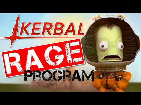 [RP LIVE] Kerbal Rage Program | The Big, Empty, Fuel-less Space Station mk1