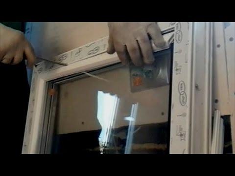 Установка окна ПВХ в частном доме. Монтаж пластикового окна своими руками.