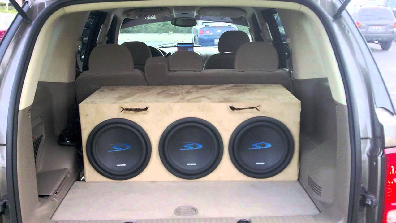 Professional Auto Stereo Hawaii - How Big of A Subwoofer Should I ...