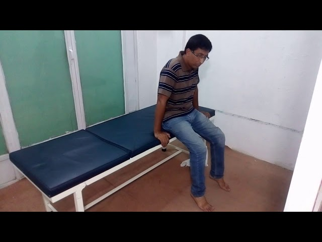 knee pain exercise 3 by Chiropractor Aamir Shahzad