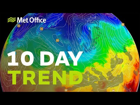 10 Day Trend – Will December Be Any Drier? 27/11/19