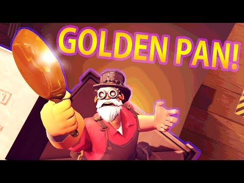 TF2 | Engi Man With a Golden Pan and a Golden Plan!