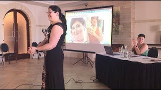 Marisabelle Bonnici from 'Road to Belle' speaking at my 'Bring Out My WOW' Workshop