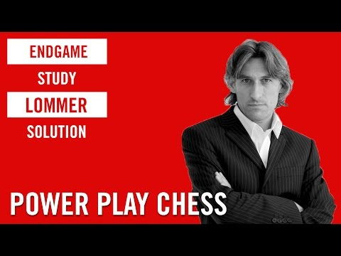 Endgame Study 3: Harold Lommer solution