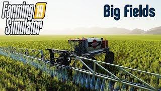 🚜#2 Big Fields - карта с огромными полями! FARMING SIMULATOR 19