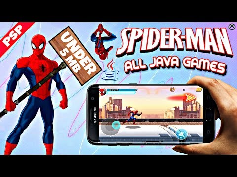 Spider-Man All Java Games Download On Android With Download Link By GAMING TECH