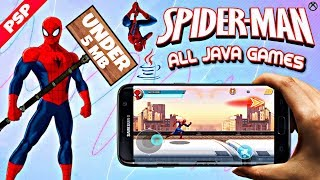 Download Spiderman all Java Games Download for Android | GAMING TECH