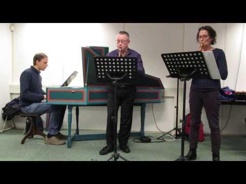 Marin Marais, Suite 1, Pièces en trio en Do majeur : Sarabande, Loure