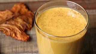 Pumpkin Protein Shake Recipe - Hasfit Pumpkin Pie Smoothie - Pumpkin Spice Smoothie
