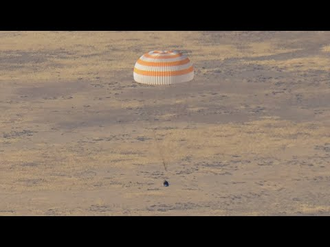 Expedition 60 Crew Returns Safely from the Space Station on This Week @NASA  Oct 4, 2019