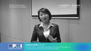 "MUNKHCHIMEG Enkhee""Project Management In Emerging Economies"" Conference 2014"