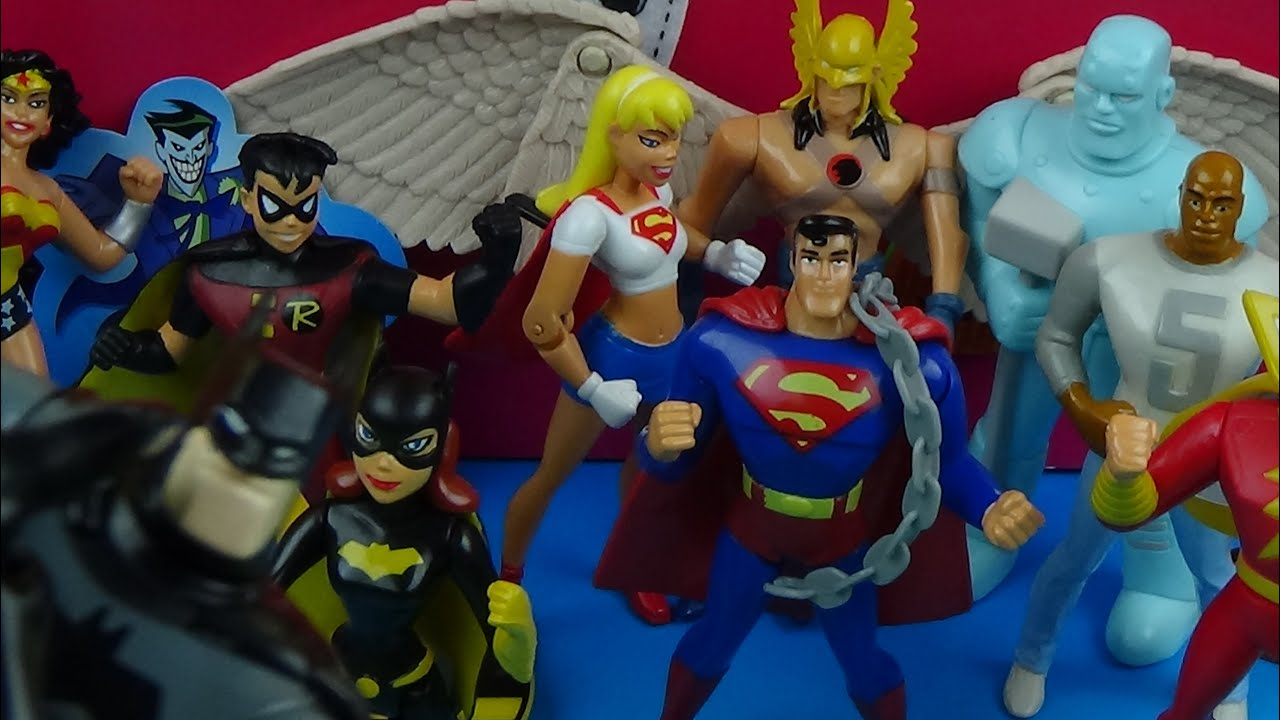 2001 JACK IN THE BOX DC SUPERHEROS SET OF 9 TOYS VIDEO REVIEW  sc 1 st  YouTube & 2001 JACK IN THE BOX DC SUPERHEROS SET OF 9 TOYS VIDEO REVIEW ... Aboutintivar.Com