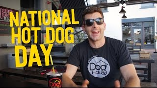 Come celebrate National Hot Dog Day with us! | Dog Haus