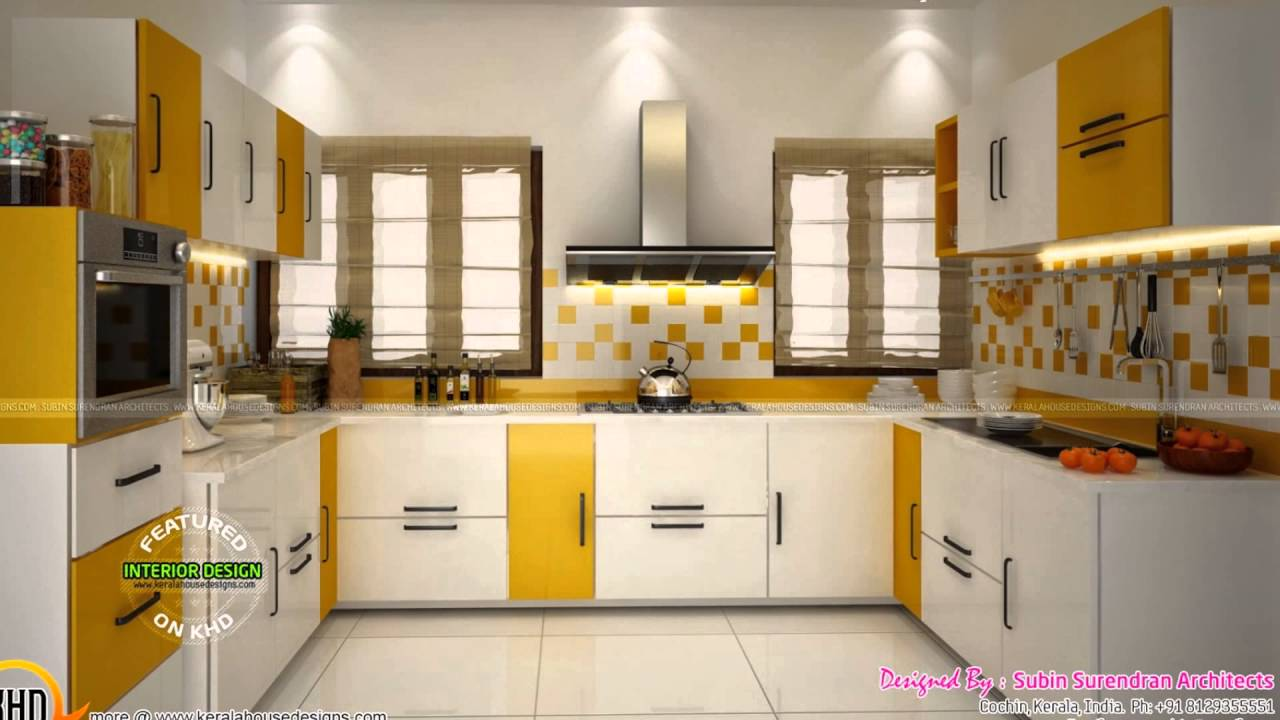 Thrissur modern kitchen designs home interiors packages for Modern kitchen designs in kerala