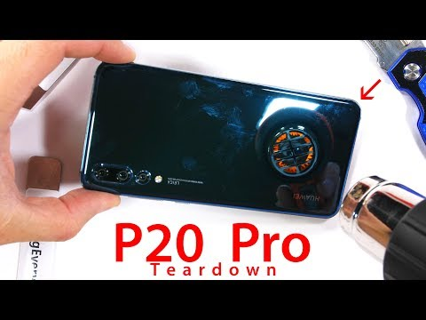 Triple Camera P20 PRO Teardown – Are they all stabilized?