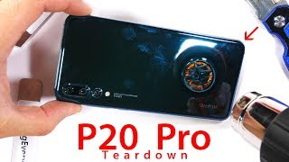 Triple Camera P20 PRO Teardown - Are they all stabilized?