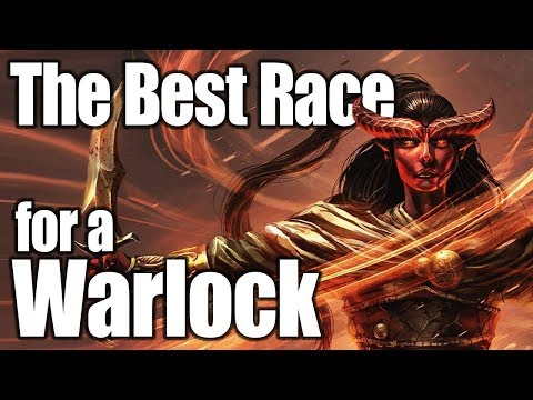D&D Warlock 5e- Best Race in 5th Edition Dungeons and Dragons