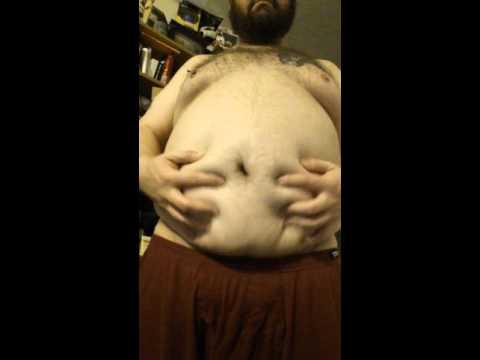 Fat boy belly play