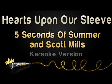 5 Seconds Of Summer and Scott Mills - Hearts Upon Our Sleeve (World Cup 2014 Karaoke Version)