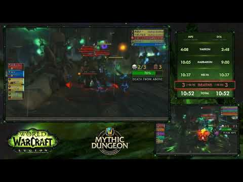 WoW Mythic Dungeon Invitational - China Group Stage (No Breaks)
