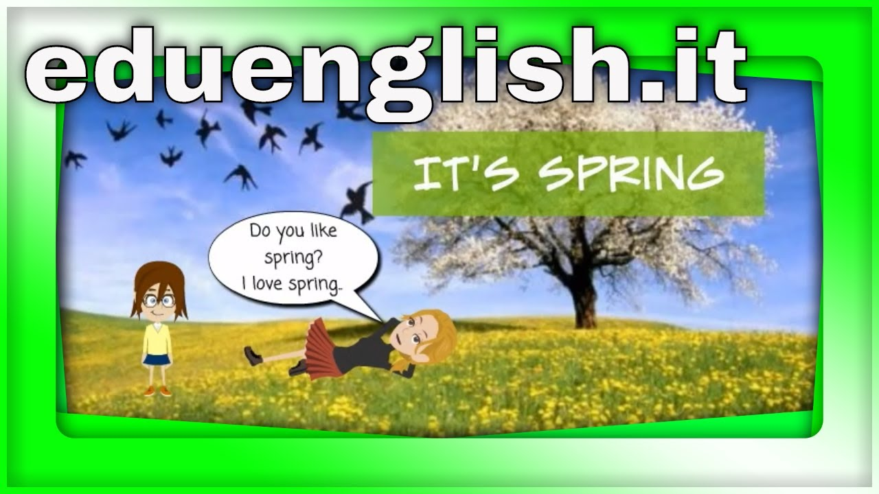 Spring vocabulary | english learning for kids