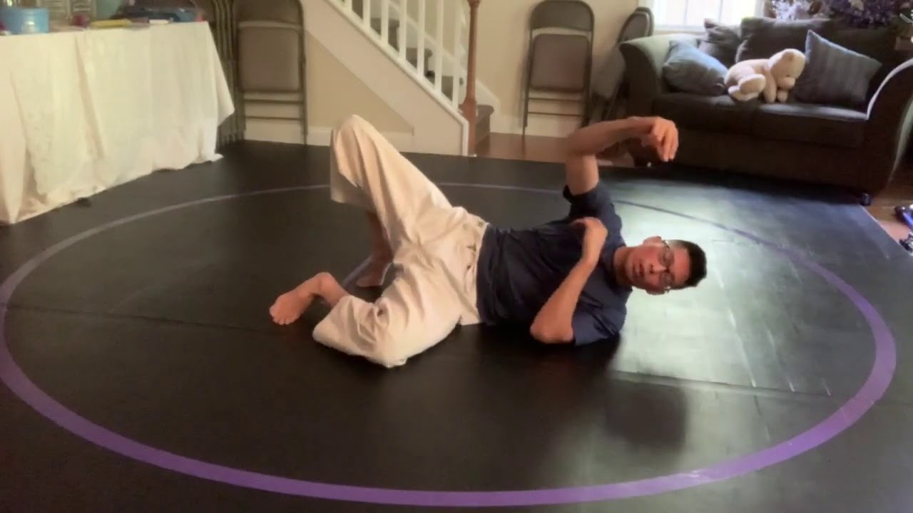 Gracie Combatives Lesson 1 Trap and Roll micro solo drills
