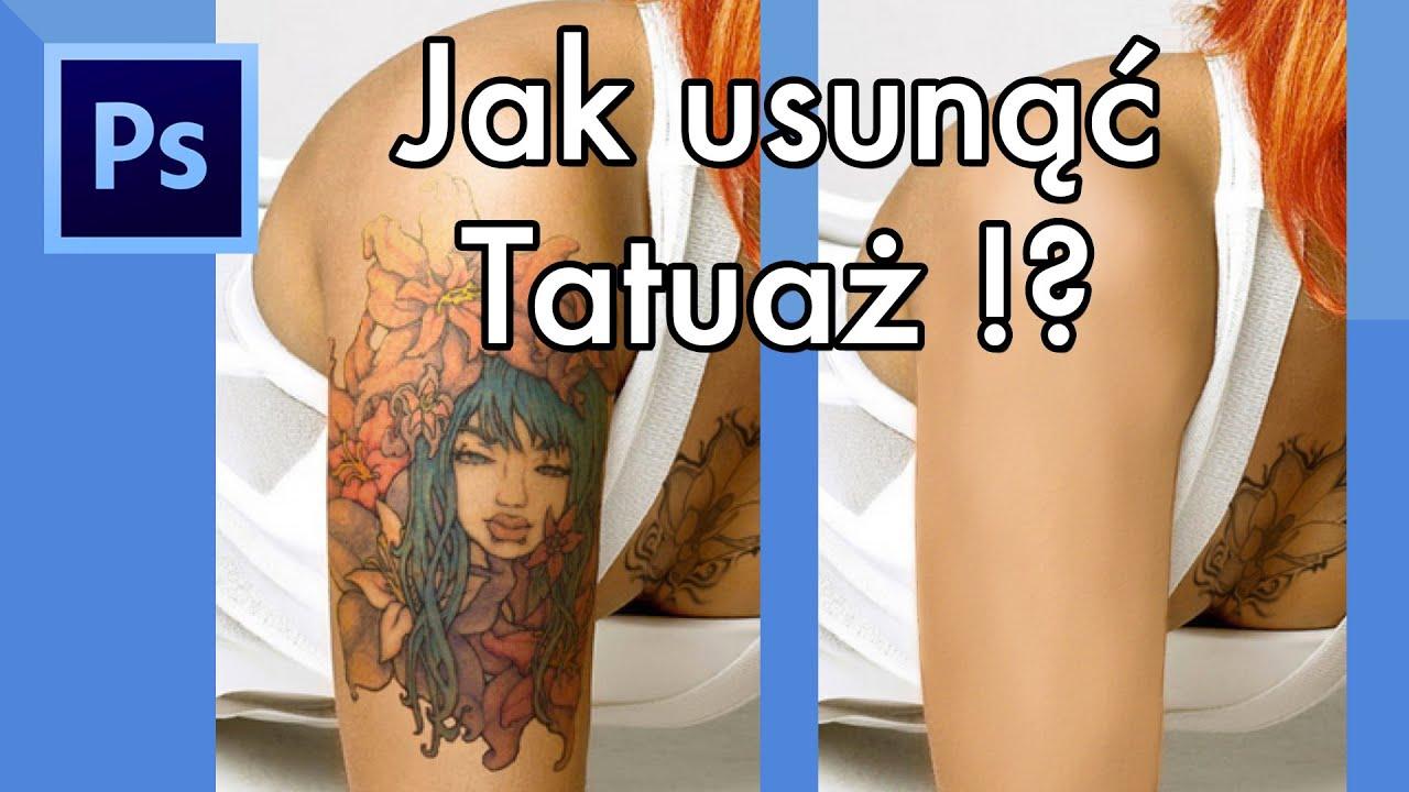 Poradnik 2 Jak Usunąć Tatuaż Photoshop
