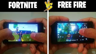 Free Fire vs Fortnite 'Testing 500Mb Ram Mobile Games' #MiPixiAndroid