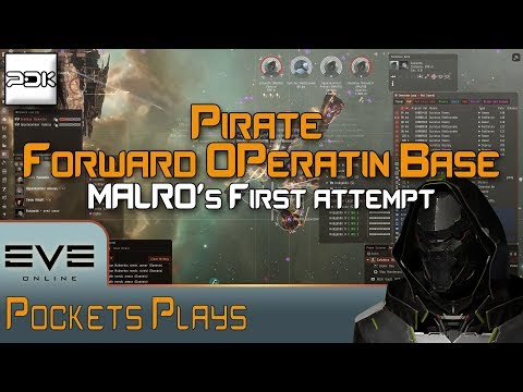 EVE Online: MALRO's first Pirate FOB fleet! - YouTube