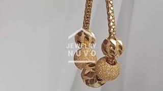 Jewelry NUVO Shine Cutting Ball Neclace 01