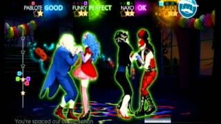 Just Dance 4 - Time Warp (Wii Gameplay)