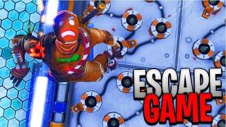 JE TEST DES PARCOURS / ESCAPE GAME EN MASSE Sur Fortnite Battle Royale !!