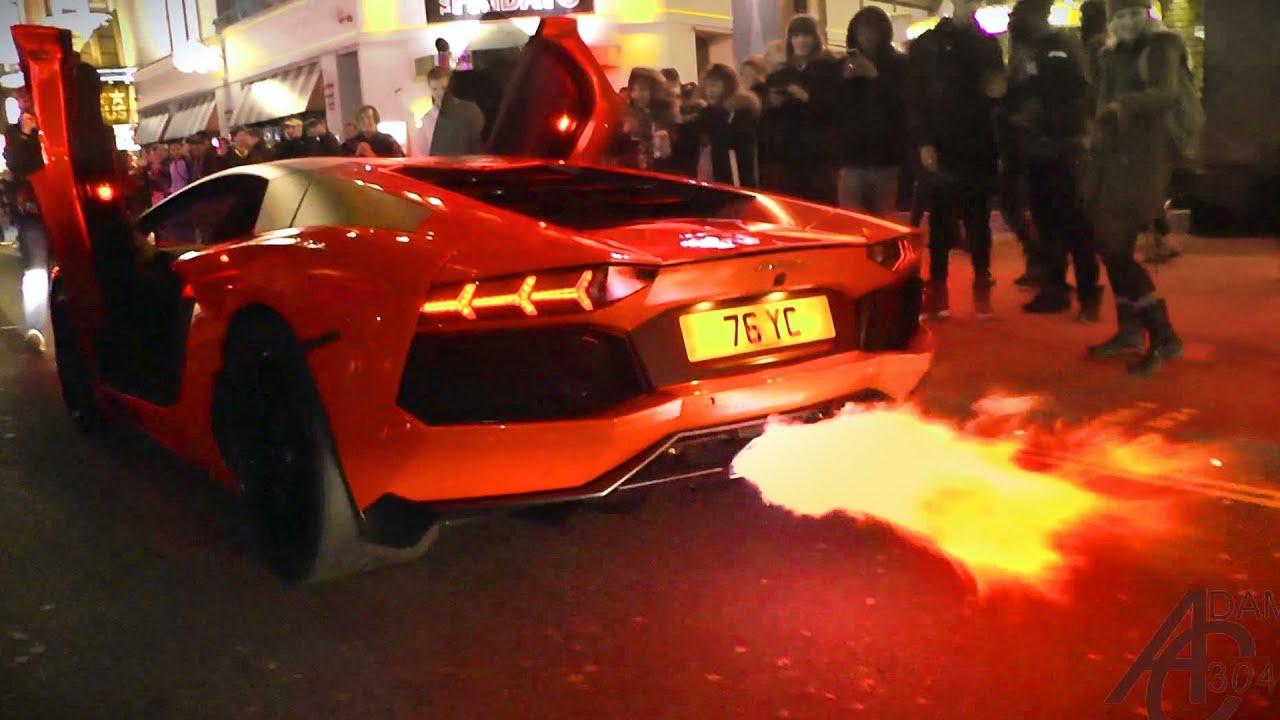 Yiannimize S Lamborghini Aventador Flamethrower In