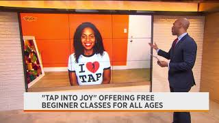 CHLOE ARNOLD - National Tap Dance Day 2020 - Spectrum News 1 Interview