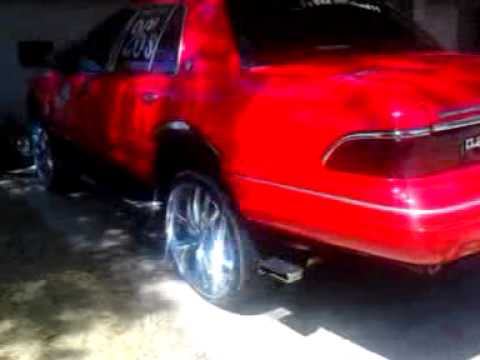 grand marquis on 26s big red prt 1 by cts saucekid 392 grand marquis on 26s big red prt 1 by